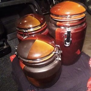 Gibson Elite Soho 3 piece Canister set